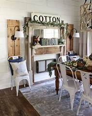 Farmhouse Fireplace With Shiplap