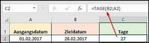Tag Berechnen : wie kann ich in excel die tage berechnen office ~ Themetempest.com Abrechnung