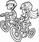 Coloring Bike Riding Drawing Cartoon Duck Bicycle Bikes Printable Spring Dirt Popular Sketch sketch template
