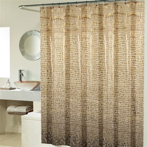 bathroom shower curtain ideas designs curtains minimalist bathroom design ideas with natural brown shower curtains hang on steel