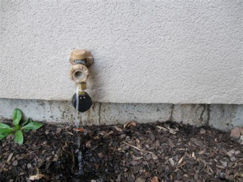 Outdoor Faucet Leaking When Turned by Plumbing Toilet Faucet Repair Handyman Services