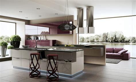cuisine ouverte design cuisine ouverte sur salon idées et astuces d 39 aménagement