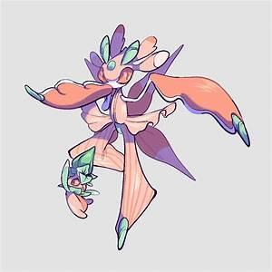 Fomantis - Pokémon - Zerochan Anime Image Board  Pokemon