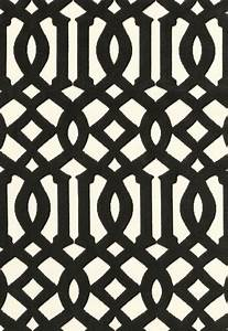 The Classic Imperial Trellis in Black and White.