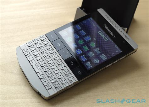 porsche design blackberry blackberry porsche design p 39 9981 review slashgear