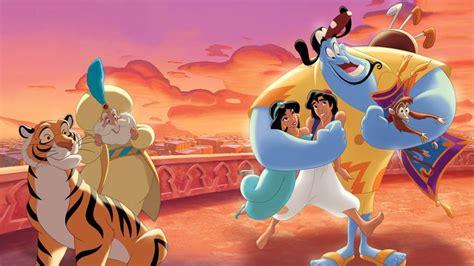 Walt Disney The Story Of Aladdin And Princess Jasmine Gin