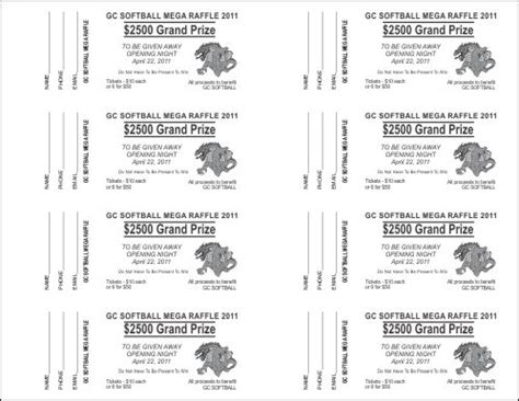 fundraiser ticket template 7 best images of free printable tickets template fundraisers fundraiser tickets template free