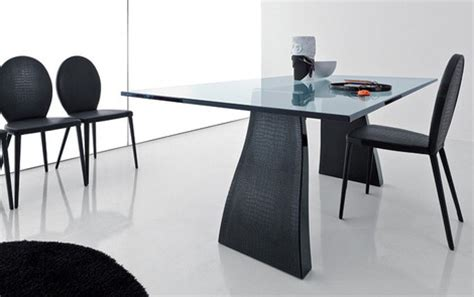 31675 gently used furniture admirable crocodile leather table and chairs dining set by compar