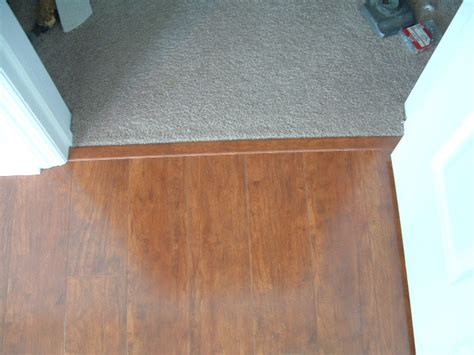 transition for laminate flooring finishing carpet to laminate transition