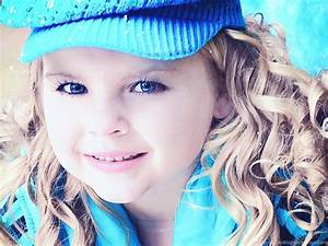 Cute Baby Girl Blue Eyes Dress Wallpapers ...