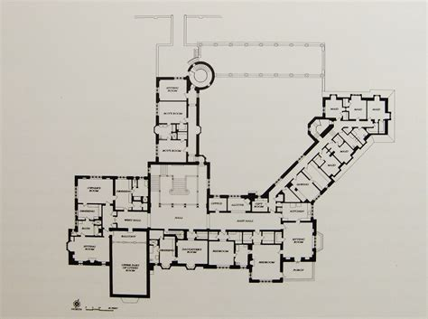 floor plans mansions greystone mansion second floor plan home floor plans
