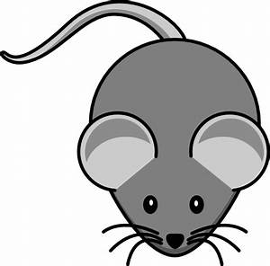 Simple Mouse Dark Grey Clip Art at Clker.com - vector clip ...