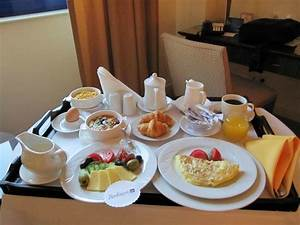 room service...breakfast, yummy! - Picture of Radisson Blu ...