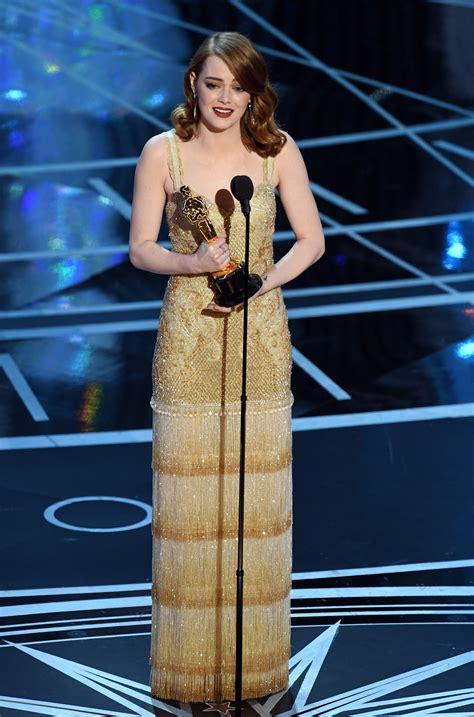 Watch Emma Stone Oscar Acceptance Speech Oscars