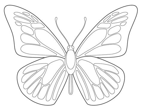 butterfly printable art projects  kids