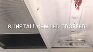 Installing Led Troffer