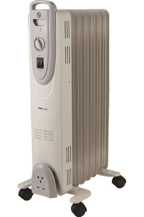 radiateur bain d huile proline of7f 4099753 darty