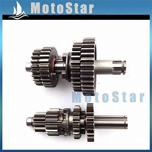 Transmission Gear Box Main Counter Shaft For Chinese Yx110