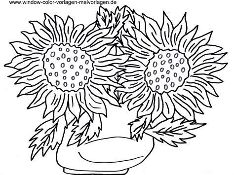 Malvorlagen Kostenlos Blumen