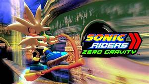 Sonic Riders Zero Gravity - Gigan Rocks - Silver 1080p 60 ...