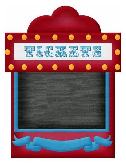 Circus Clipart Ticket Carnival Circo Clip Park