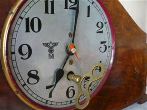 german wwii mantel clock