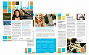 Film Festival Brochure Template Arts Council Education Newsletter Template Word