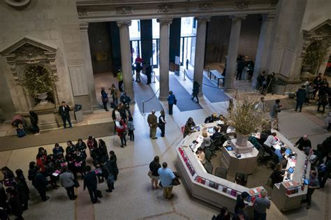 met could charge tourists mandatory admission fee upper east side new york dnainfo