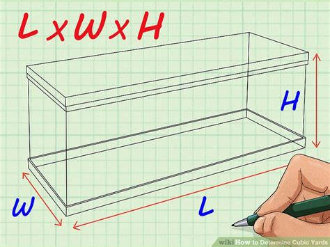 determine cubic yards  steps  pictures