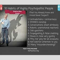 10 Habits Of Highly Psychopathic People  Lucky Otters Haven