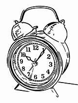 Alarm Coloring Printable Cartoonized Clocks Olphreunion Printables sketch template