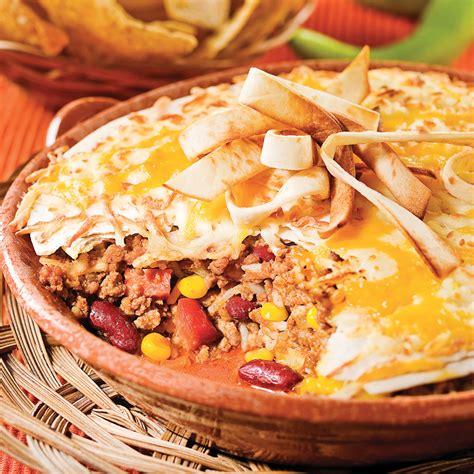 cuisine recettes pratiques gratin mexicain recettes cuisine et nutrition