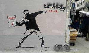 Political street art resurfacing in Hong Kong | Asia Times