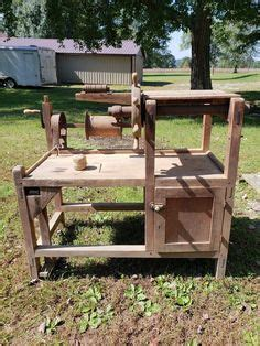antique broom corn winding machine broom making equipment