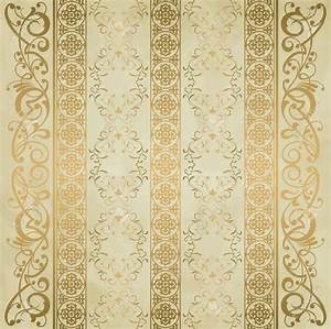 Gold Vintage Wallpaper | WallMaya.com