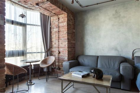 Exposed Brick Creates A Soft Ambiance