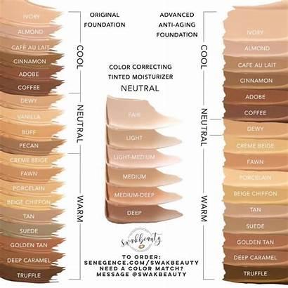 Foundation Makesense Chart Cctm Swakbeauty Moisturizer Tinted