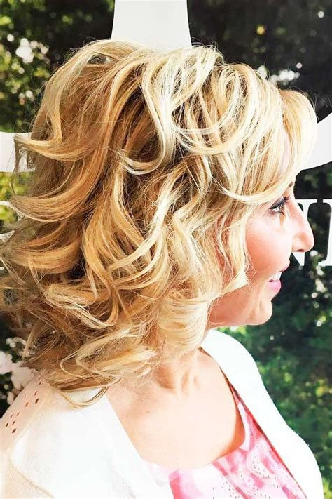 hairstyles  mother   bride long hair photo