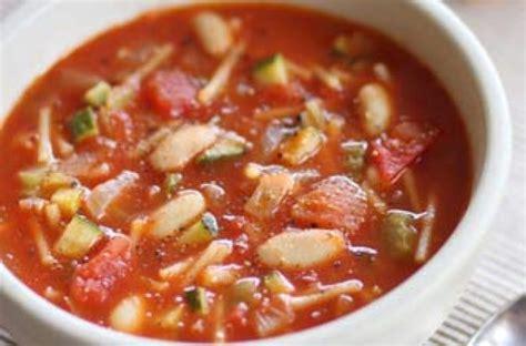 recipe minestrone soup minestrone soup recipe goodtoknow
