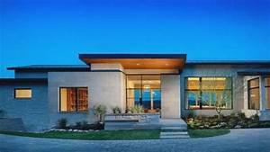 Mesmerizing, Single, Floor, Modern, House, Plans, One