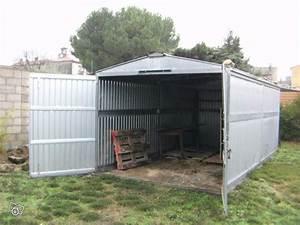 Tole Ondulée Galvanisée Occasion : troc echange garage abri tole galvanis 2 portes 18m2 sur ~ Dailycaller-alerts.com Idées de Décoration