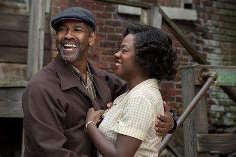 New Movie Fences Starring Denzel Washington Talking