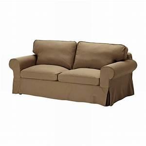IKEA EKTORP Sofa Bed SLIPCOVER Cover IDEMO LIGHT BROWN