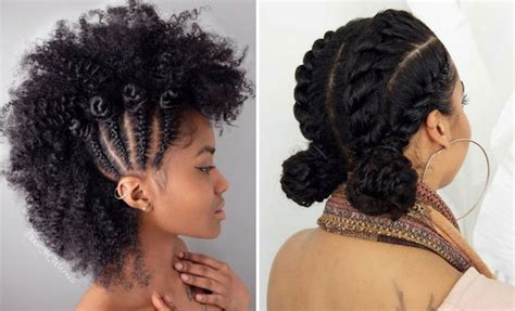 Chic and Easy Updo Hairstyles for Natural Hair2