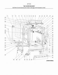 Kenmore 58712333f01b Dishwasher Parts