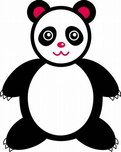 Panda Clipart Clip Bear Giant Cliparts Cartoon