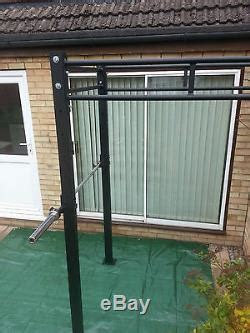 monster power rack wall mounted squat rig pull  station crossfit