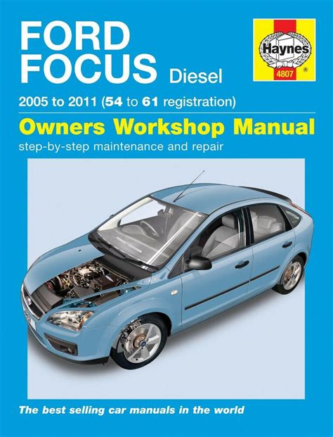 online auto repair manual 2002 ford focus electronic toll collection haynes manual 4807 ford focus 1 6tdci 1 8tdci 2 0tdci diesel 2005 2011 new ebay