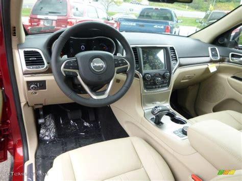 beige jeep cherokee black light frost beige interior 2015 jeep grand cherokee