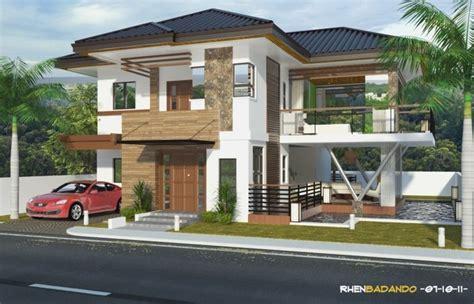 elevation single story mediterranean house plans bungalow designs philippine design